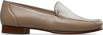 Van Dal Womens Reedham Loafers (Sesame/Silver Python, 7)