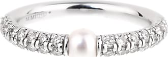 MIMI MILANO Diamond Pearl White Gold Ring