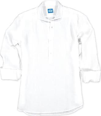 Panareha MAMANUCA linen polera shirt white