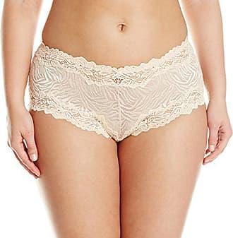 8dcf2454b402 Lunaire Womens Plus-Size Whimsy Barbados Mesh Boyshort Panty, Nude Animal,  6 (