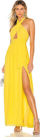 Majorelle London Andromeda Gown in Yellow