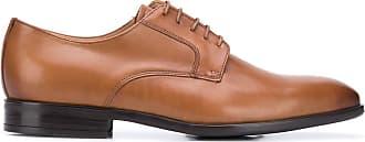 Paul Smith Sapato derby com bico quadrado - Marrom