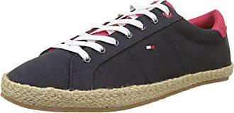 Basses HommeBleuMidnight Up Textile Hilfiger Tommy EU EspadrilleSneakers Lace 40343 eroWxdCQB