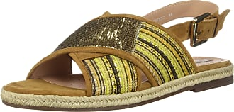 Geox Women Sandals D925SC 0DS21 D Kolleen CE32D Pistachio-Curry Size 7 UK Orange