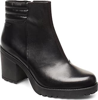 Vagabond Grace Shoes Boots Ankle Boots Ankle Boots With Heel Svart VAGABOND