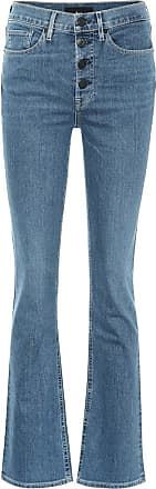 3x1 High-Rise Bootcut Jeans Poppy