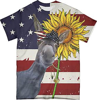 NA Donkey American Flag 3D Shirt