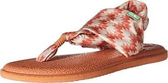 83c2419da Sanuk Womens Yoga Sling 2 Prints Flat Sandal