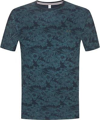 Sun 68 T-Shirt (Blau) - Herren