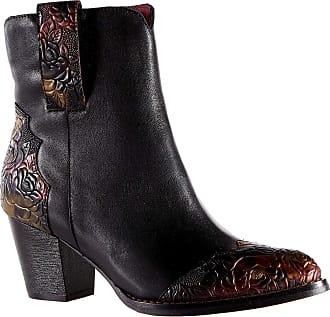 Laura Vita JX1617-2 Grceco 02 Womens Boots Leather, schuhgröße_1:40 EU, Farbe:Black
