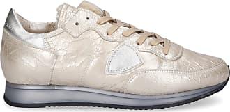 Philippe Model Sneaker low TROPEZ Logo Patch gold