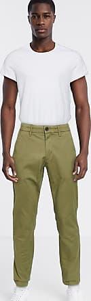 Timberland twill straight chino trousers-Green