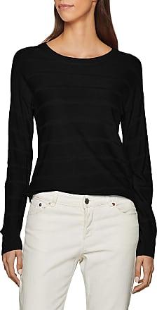 Jacqueline de Yong Womens JDYPULLI L/S NOOS Pullover KNT Jumper, Black (Black), 14 (Size of : L)