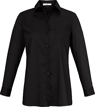 Emilia Lay Blouse shirt collar and long sleeves Emilia Lay black