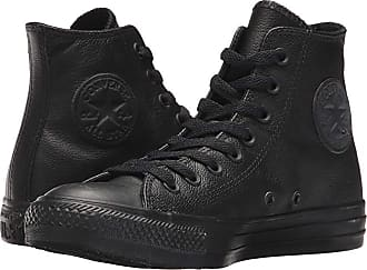 5636be38f490 Converse Chuck Taylor(r) All Star(r) Leather Hi (Black Mono