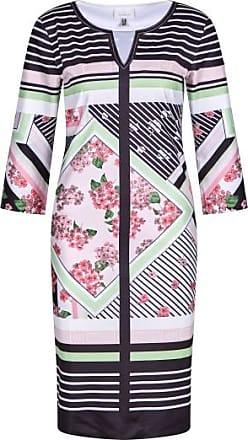 Sportalm Jerseykleid in Blumen-Streifenoptik Größe:34