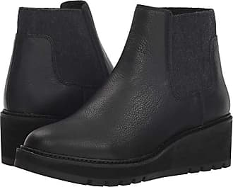 Eileen Fisher Chelsea (Black Washed Leather) Womens Pull-on Boots