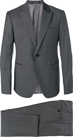 Emporio Armani classic two-piece suit - Grey