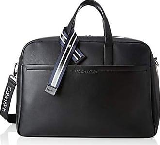 a0638d4048 Calvin Klein Flex Weekender, Sac porté main homme, Noir (Black), 25x35x50