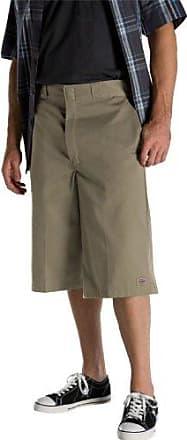fd4be9cf18 Dickies Mens 15 Inch Loose Fit Multi-Pocket Work Short, Khaki, 44