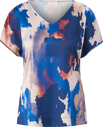 Gerry Weber V-neck shirt dropped shoulders Gerry Weber multicoloured
