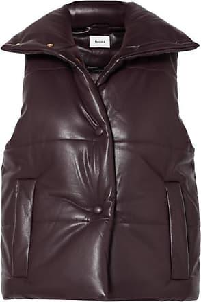 gilets en cuir pour femmes achetez jusqu 65 stylight. Black Bedroom Furniture Sets. Home Design Ideas