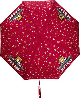 Moschino DJ bear umbrella - Red