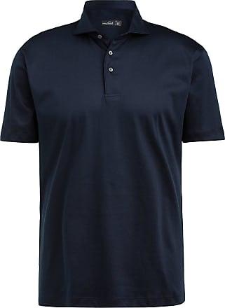 Van Laack Jersey-Poloshirt PESO - DUNKELBLAU