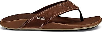 Olukai NUI Sandals Men Rum/Rum Shoe Size US 8 | EU 41 2019