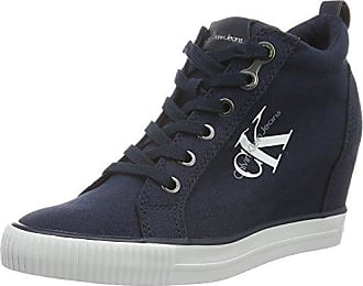 287ca24c49 Calvin Klein Jeans Damen Ritzy Canvas High-Top Blau (Navy) 40 EU