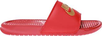 Nike Benassi Jdi Slides With Logo Mens Red