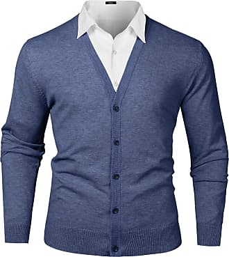 Sebaby Mens Fall Winter Regular Hit Color Stretch Fit Pullover Sweater