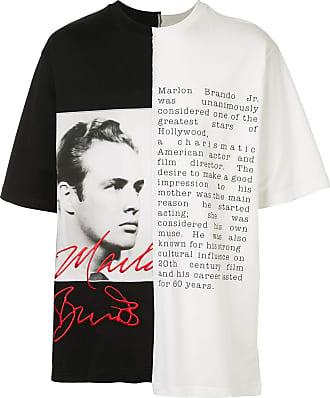 Dolce & Gabbana Camiseta Marlon Brando bicolor - Branco