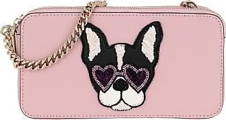 Kate Spade New York Sylvia Francois Double Zip Mini Crossbody Bag Tutu Pink Umhängetasche rosa