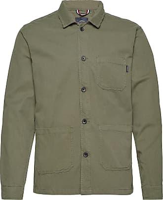 Lindbergh Workwear Jacket Överskjorta Grön Lindbergh