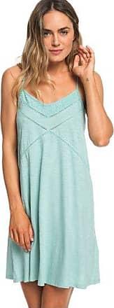 7f45de21955 Roxy New Lease Of Life - Robe de plage à bretelles pour Femme - Bleu -