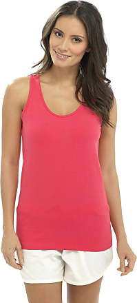 Foxbury Ladies Girls Plain Summer Beach Sleeveless Vest Top Black Pink Navy White UK Size 10-18