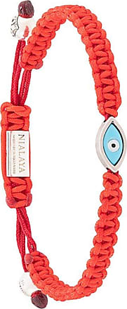 Nialaya evil eye bracelet - Red