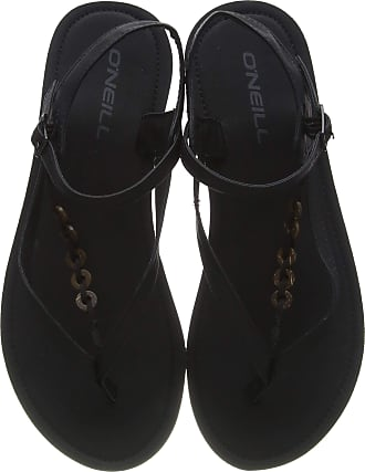 O'Neill Womens Fw batida coco sandalen Ankle Strap Sandals, Black Out 9010, 6 UK