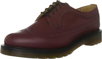 Dr. Martens 3989 Brogue Shoe 13844600, unisex brogue, Cherry Red, 6.5 UK (40 EU)