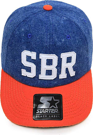 Starter Boné Starter Collab Sneakers BR Vintage Azul/Laranja