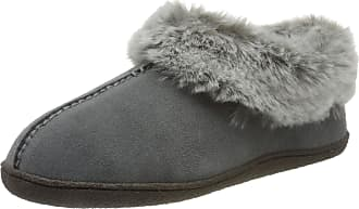 Clarks Womens Home Bliss Open Back Slippers, Grey (Grey Grey), 8 UK