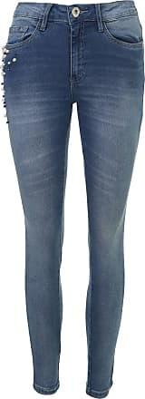 Malwee Calça Jeans Malwee Skinny Pérolas Azul