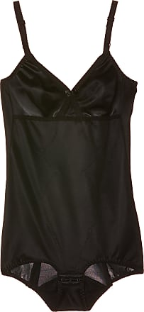 Naturana Womens Moulded Corselette Full Cup Shaping Bodysuit, Black, 44B
