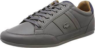 Lacoste Mens Chaymon 118 1 Low-Top Sneakers, Grey (Gray Cam0011g1n81), 7 UK