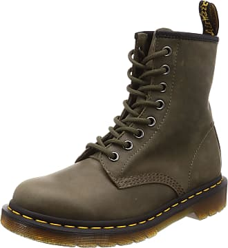 ecc2425c1f3a Dr. Martens Adults 1460 Classic Boots Green (Olive Dusky 305) 8 UK (