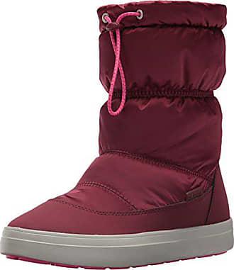 2f7e54de573e Crocs Womens LodgePoint Shiny Pull-on W Snow Boot