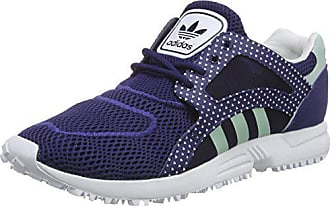 sale retailer f97ae de2ee adidas Damen Racer Lite W Laufschuhe, Blau (NgtskyFrogrnFTW),