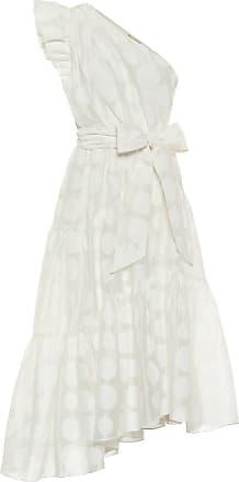 Ulla Johnson Ariane organza one-shoulder midi dress