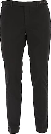 PT01 Pants for Men On Sale, Black, Cotton, 2017, 34 38